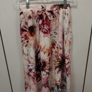 Sprinkle of Glitter by Simply Be Floral Skirt